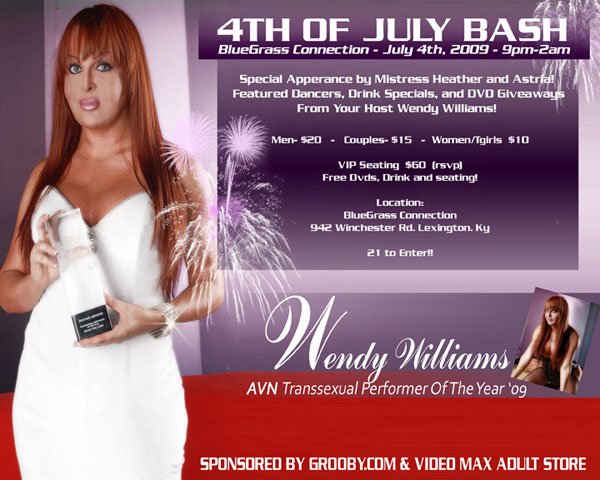 twendyposterjulyintred Hot Wendy Williams To host 4th of July Bash!