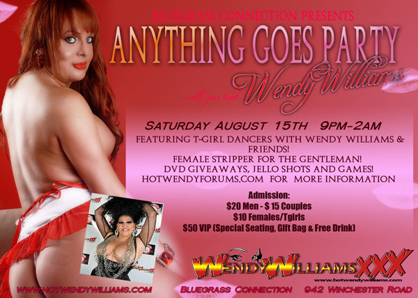 Hot Wendy Williams Hosts 'Anything Goes' Party in August!
