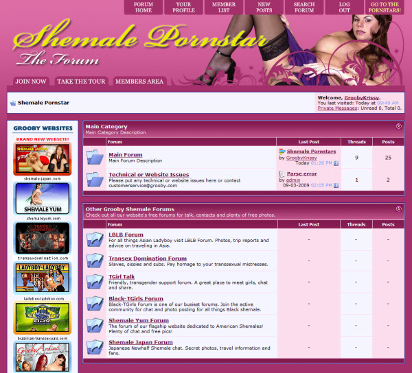 shemalepornstarscreenforum Come Join The Conversations On The Shemale Pornstar Forum!