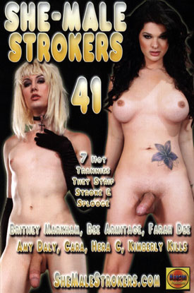 shemale strokers 41 Two Hot DVD Releases Featuring Your Favorite Shemale Pornstars!