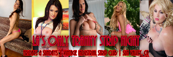 StripClubPhotosPoster LAs Only Topless Transsexual Strip Night!