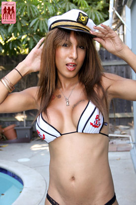 t nathalie shemalepornstar 01 Nathalie Gets Her Sexy Sailor Ass Fucked On Shemale Pornstar!