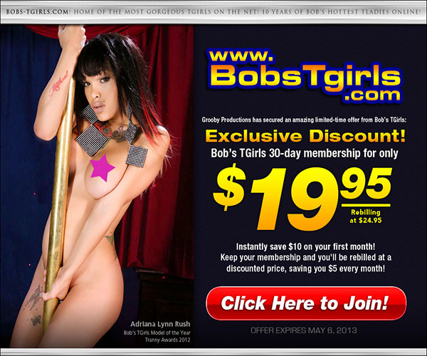 bobs tgirls discount The Sexy Shemale Pornstars Are Waiting At Bobs Tgirls!